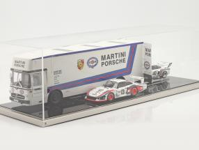 High quality  acrylic showcase 90 x 30 x 25 cm für Race Car transporter