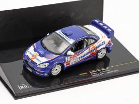 Peugeot 307 WRC #2 winner rally Cevennes 2007 Henry, Lombard 1:43 Ixo / 2nd choice