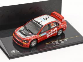 Mitsubishi Lancer WRC #63 rally Sweden 2006 Carlsson, Holmstrand   / 2nd choice