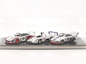 High quality acrylic showcase Dieppe with acrylic / metal base black / silver