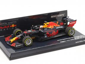 M. Verstappen Red Bull Racing RB16 #33 Winner 70th Anniversary GP F1 2020