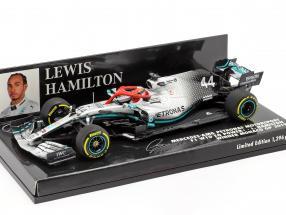 L. Hamilton Mercedes-AMG F1 W10 #44 Monaco GP F1 World Champion 2019 1:43 Minichamps