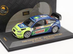 Ford Focus WRC #3 rally Monte Carlo 2007 Gronholm, Rautiainen 1:43 Ixo / 2nd choice