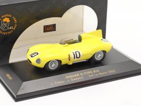 Jaguar D-Type #10 LeMans 1955 Claes, Swaters 1:43 Ixo / 2. choice