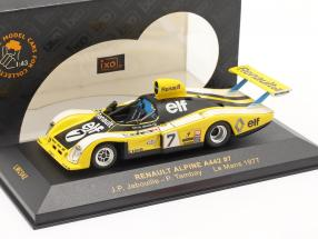 Renault Alpine A442 #7 LeMans 1977 Jabouille, Tambay 1:43 Ixo