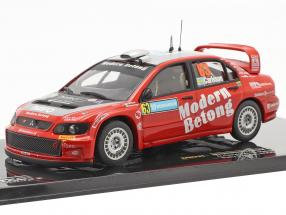 Mitsubishi Lancer WRC #63 rally Sweden 2006 Carlsson, Holmstrand