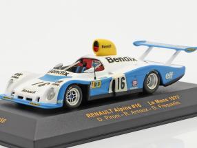Renault Alpine #16 LeMans 1977 Pironi, Arnoux, Frequelin 1:43 Ixo