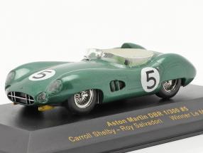 Aston Martin DBR 1/300 #5 winner LeMans 1959 Shelby, Salvadori 1:43 Ixo