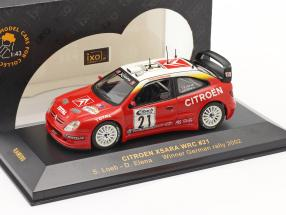 Citroen Xsara WRC #21 winner rally Germany 2002 Loeb, Elena 1:43 Ixo