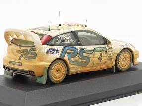 Ford Focus RS WRC EVO3 Dirty version #4 rally New Zealand 2003 Martin, Park