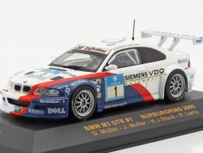 BMW M3 GTR #1 Nurburgring 2005 Muller, Muller, Stuck, Lamy 1:43 Ixo