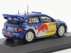 Skoda Fabia WRC #11 rally Monte Carlo 2006 Panizzi, Panizzi