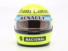 Ayrton Senna Lotus 97T #12 formula 1 1985 helmet