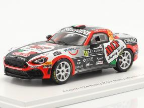 Abarth 124 Rally RGT #56 Rallye Monte Carlo 2020 Brazzoli, Fenoli