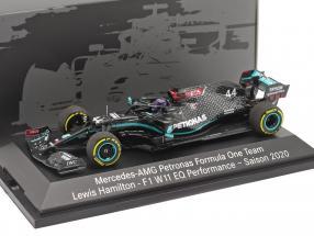 Lewis Hamilton Mercedes-AMG F1 W11 #44 formula 1 World Champion 2020 1:43 Minichamps