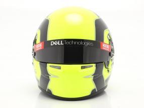 Lando Norris #4 McLaren F1 Team formula 1 2021 helmet 1:2 Bell