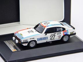 Ford Capri III 3.0 S #27 24h Spa 1980 Jaussaud, Therier 1:43 Ixo