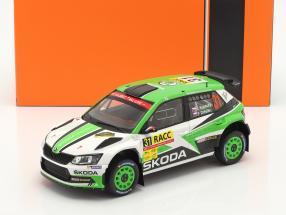 Skoda Fabia R5 #31 Rallye Catalunya 2018 Kopecky, Dresler 1:18 Ixo