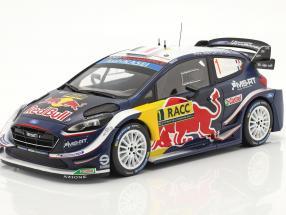 Ford Fiesta WRC #1 2nd Rallye Catalunya 2018 Ogier, Ingrassia 1:18 Ixo