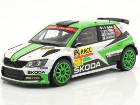 Skoda Fabia R5 #32 Rallye Catalunya 2018 Rovanperä, Halttunen 1:18 Ixo