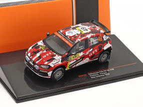 Volkswagen VW Polo GTI R5 #49 Rallye Catalunya 2018 Solberg, Engan 1:43 Ixo