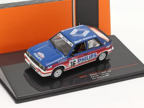 Renault 11 Turbo #16 6th Rally Tour de Corse 1987 A.Oreille, S.Oreille 1:43 Ixo