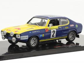Ford Capri #2 Sachs Rally Baltic 1972 Röhrl, Berger 1:43 Ixo