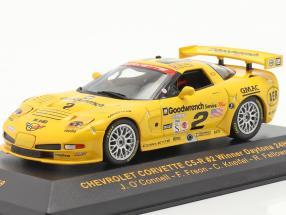 Chevrolet Corvette C5-R #2 Daytona 24h 2001 O`Connell, Freon, Kneifel, Fellows 1:43 Ixo