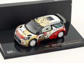 Citroen DS3 WRC Abu Dhabi World rally team Presentation   / 2nd choice