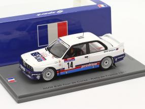 BMW M3 (E30) #14 6th Rallye Tour de Corse 1987 Duez, Biar 1:43 Spark