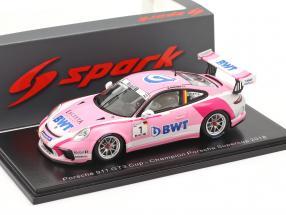 Porsche 911 GT3 Cup #1 Porsche Supercup champion 2018 M. Ammermüller 1:43 Spark