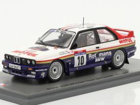 BMW M3 (E30) #10 Winner Rallye Tour de Corse 1987 Beguin, Lenne 1:43 Spark