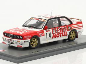 BMW M3 (E30) #14 2nd Rallye Tour de Corse 1989 Chatriot, Perin 1:43 Spark