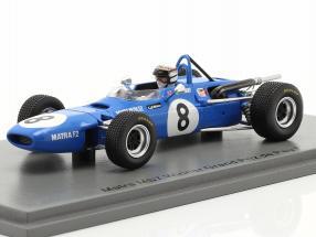 Jackie Stewart Matra MS5 #8 Winner GP de Pau formula 2 1968 1:43 Spark