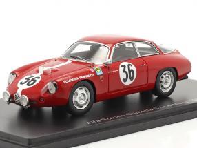 Alfa Romeo Giulietta GZ #36 24h LeMans 1963 Foitek, Schäfer 1:43 Spark