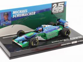 M. Schumacher Benetton B194 #5 French GP F1 World Champion 1994 1:43 Minichamps