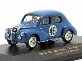 Renault 4CV #46 LeMans 1950 Sandt, Coatalen 1:43 Ixo
