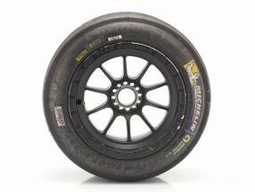 Original Michelin Racing Tires 20/54-13 with rim formula Renault 2.0