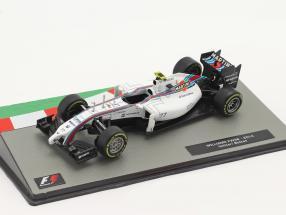 Valtteri Bottas Williams FW36 #77 2nd British GP formula 1 2014 1:43 Altaya