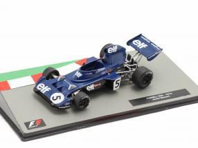 Jackie Stewart Tyrrell 006 #5 Formula 1 World Champion Italian GP 1973 1:43 Altaya