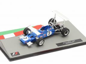 Jackie Stewart Matra MS10 #7 Winner South African GP formula 1 World Champion 1969 1:43 Altaya