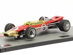 Graham Hill Lotus 49B #9 Sieger Monaco GP Formel 1 Weltmeister 1968 1:43 Altaya