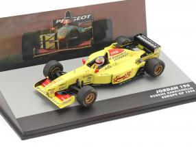 Rubens Barrichello Jordan 196 #11 Europe GP formula 1 1996 1:43 Altaya