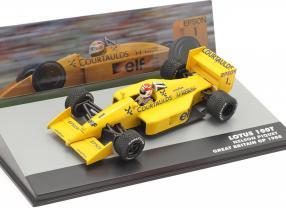 Nelson Piquet Lotus 100T #1 Great Britain GP formula 1 1988 1:43 Altaya