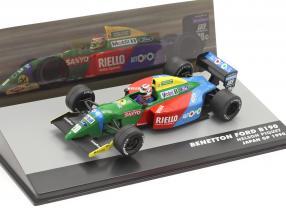 Nelson Piquet Benetton Ford B190 #20 Winner Japan GP formula 1 1990 1:43 Altaya