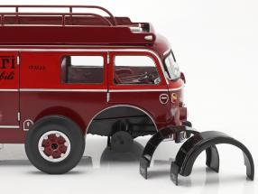 Fiat 642 RN2 Bartoletti Ferrari Racing transporter dark red   / 2. choice