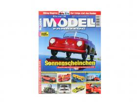 Zeitschrift MODEL VEHICLE output July / August - No. 4 / 2021