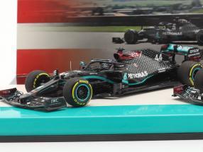 Hamilton #44 & Bottas #77 2-Car Set Mercedes-AMG F1 W11 Formel 1 2020 1:43 Minichamps