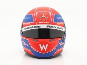 George Russell #63 Williams Racing formula 1 2021 helmet 1:2 Bell