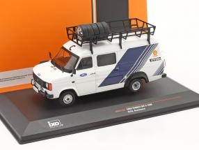 Ford Transit MK II Van 1986 Rallye Assistance Ford Motorsport 1:43 Ixo
